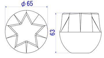 スター65mm